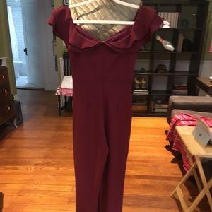 Cabernet Colored Jumpsuit/Romper